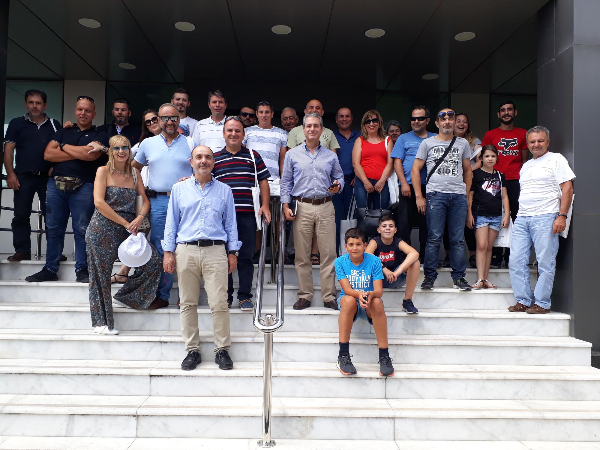 Η Neokem υποδέχτηκε το Σωματείο Μεταλλοκατασκευαστών Ν. Χανίων «Ο Ήφαιστος»